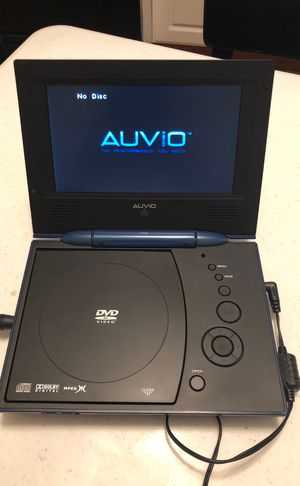 Auvio dvd portable dvd player in perfect conditions for Sale in Chicago, IL