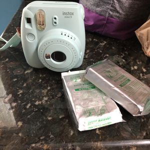 Instax mini 9 camera and film for Sale in Berlin Charter Township, MI