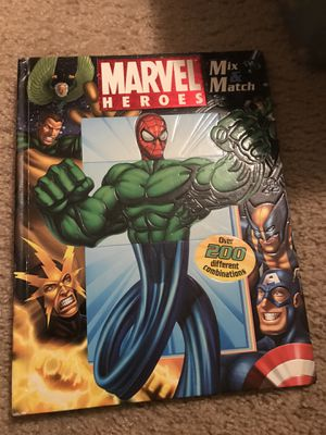 Marvel mix and match box for Sale in Buford, GA