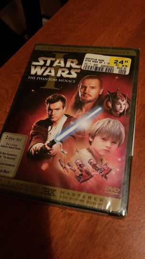 Star Wars the Phantom Menace Episode I for Sale in Westport, MA