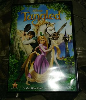 Disney Tangled Dvd for Sale in PT CHARLOTTE, FL