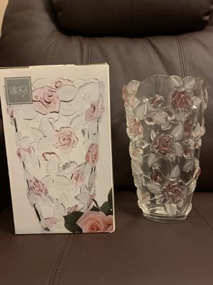 Mikasa Bella Rosa vase for Sale in Louisville, KY
