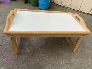 Foldable breakfast/laptop table for Sale in Fremont, CA