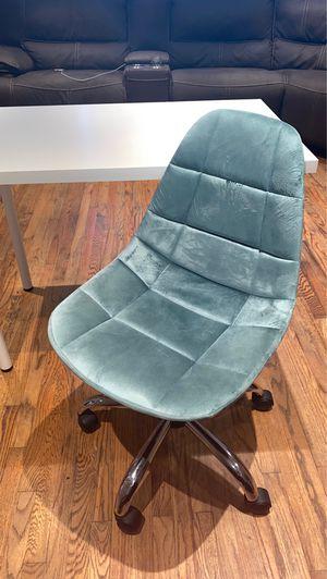 Velvet desk chair for Sale in West Covina, CA
