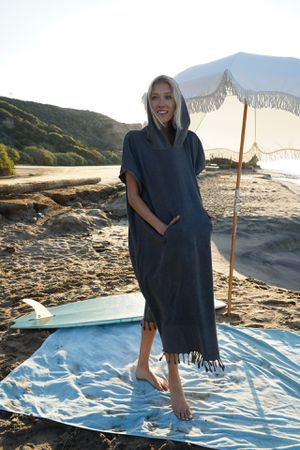 Vintage style surf poncho for women for Sale in Los Angeles, CA