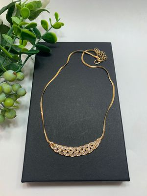 Romantic Choker Chain Necklace Fashion Accessory, GOLD Color for Sale in Los Angeles, CA