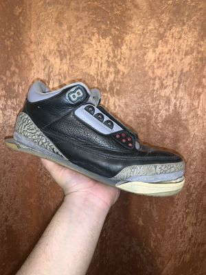 Jordan 3 Black Cement 2001 for Sale in Dallas, TX