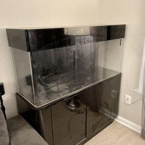 60 gallon Acrylic Aquarium Fish Tank Stand Canopy Sump for Sale in San Jose, CA