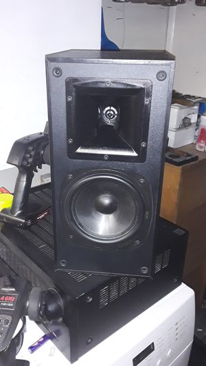 Klipsch SB2 Black Bookshelf Speakers for Sale in Livermore, CA