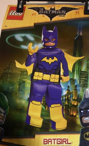 Batgirl Lego costume size 4/6X for Sale in New Britain, CT