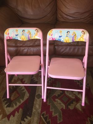Princess kids chairs for Sale in Corona, CA