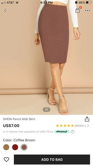 Shein Pencil Skirt Size Large (New) for Sale in Lemon Grove, CA