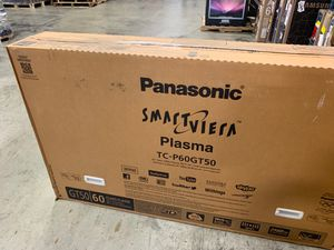 """Panasonic TV Plasma Smart 60"""" TC/P60GT50 open box for Sale in Miami, FL"""