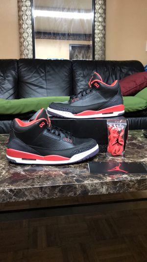 "2013 Air Jordan Retro 3 ""Crimson"" for Sale in Frederick, MD"
