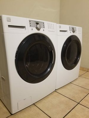 BEAUTIFUL KENMORE ELITE WASHER AND ELECTRIC STEAM DRYER FREE DELIVERY AND INSTALLATION for Sale in Glendale, AZ