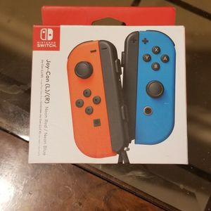 Nintendo Switch Joy Con L & R Controllers for Sale in Mesa, AZ
