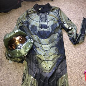 Halo Master Halloween costume size 14/16 boys XL for Sale in Los Angeles, CA