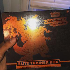 Pokémon champions path elite trainer box for Sale in Seymour, CT