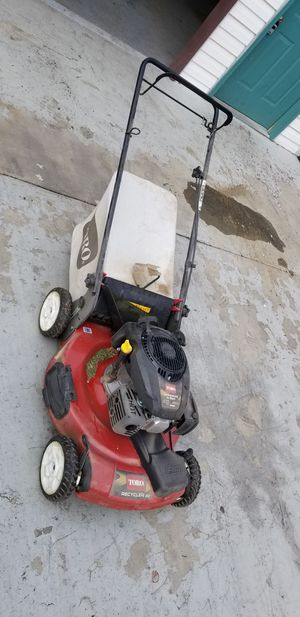 Toro 22 lawn mower 1 year old for Sale in West Valley City, UT
