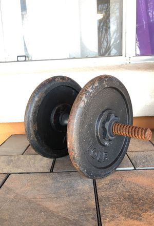 20 pound dumbbell for Sale in Laveen Village, AZ