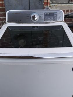Samsung Top Load Washer White for Sale in Bell Gardens,  CA