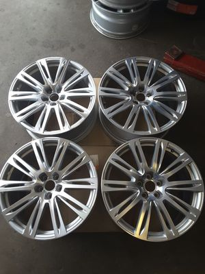 "AUDI A7 2012-2015 Wheel 20"" Rim 58884 Grey / CNC 66mm Hub #R for Sale in Hempstead, NY"