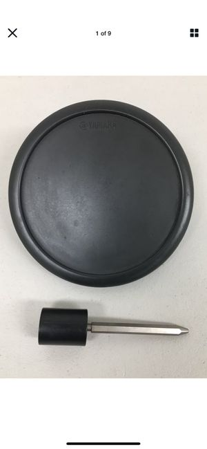 Yamaha TP65 Single-Zone Electronic Drum Pad with Mounting Hex Rod #7701 for Sale in Irvine, CA