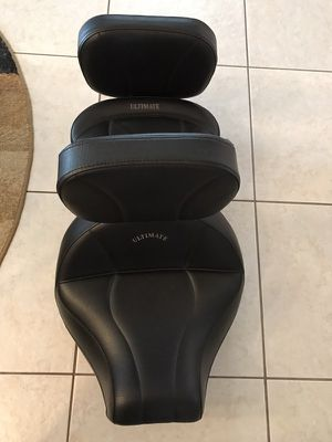 ULTIMATE Motorcycle Seat (driver and passenger) for Sale in Orlando, FL