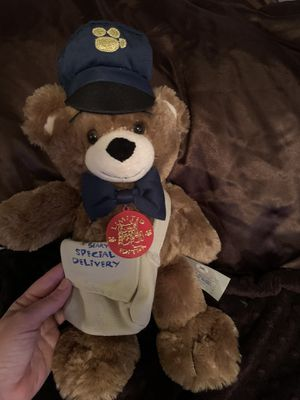Build a Bear collectors item- Messenger Bearemy for Sale in Los Angeles, CA