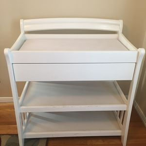 Baby Changing Table with Drawer for Sale in Long Beach, CA