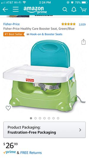 Fisher Price Kids Booster Seat for Sale in San Jose, CA