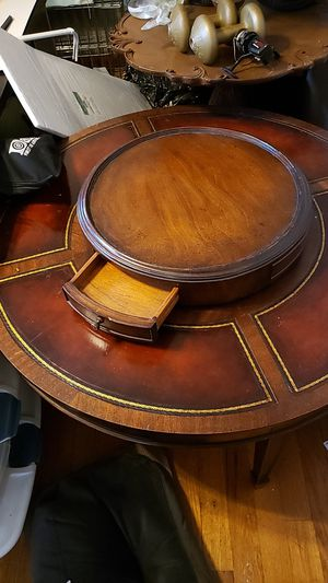 Antique cigar table top spins very rare piece real not a copycat for Sale in Mastic, NY