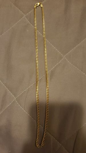 """brand new 10k gold miami cuban link chain 20"""" to 22"""" for Sale in Los Angeles, CA"""