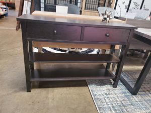 Console Table, Espresso for Sale in Santa Fe Springs, CA