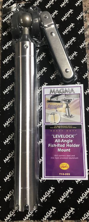 Magma grill fish rod holder mount. for Sale in Providence, RI