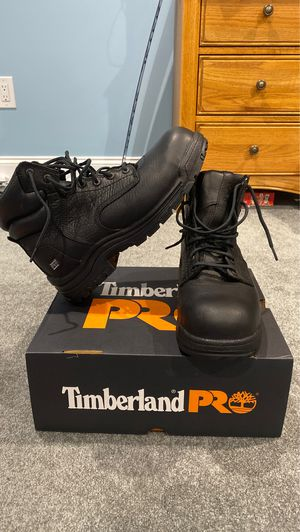 Timberland pro titan composite toe work boots for Sale in Freehold, NJ