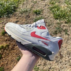 air max 90 red/gray size 8.5 mens for Sale in Murfreesboro, TN