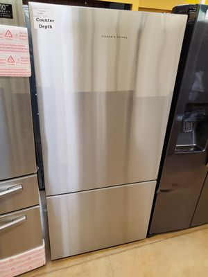 Bottom freezer counter depth refrigerator Fisher and Paykel for Sale in Azusa, CA