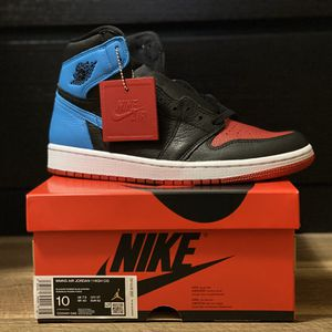"Jordan 1 Retro High ""NC to CHI"" (Size W 10 / M 8.5) for Sale in San Lorenzo, CA"