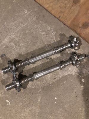 Adjustable dumbbell handles for Sale in Lincoln, RI