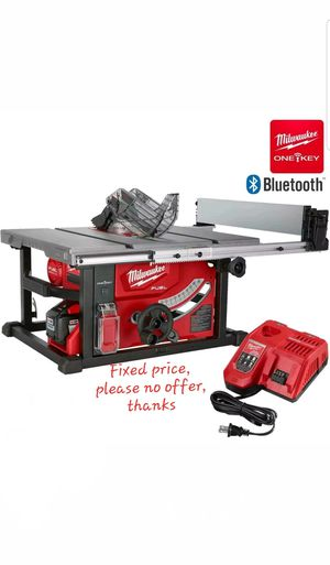 "Milwaukee 2736-21HD M18 FUEL 8-1/4"" Table Saw w/ One-Key for Sale in Upper Marlboro, MD"