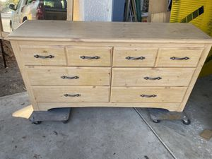 Nice dresser and mirror must go very soon for Sale in Fresno, CA