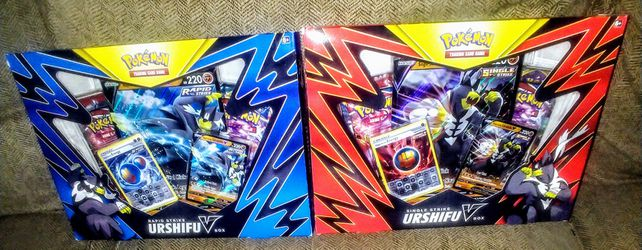 Pokemon TCG Urshifu V Boxes for Sale in Clovis, CA