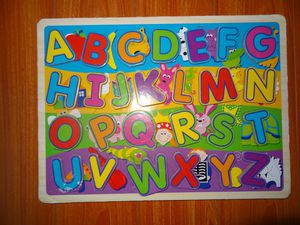 BIG ALPHABET PUZZLE. BABY KIDS TOYS. for Sale in Los Angeles, CA