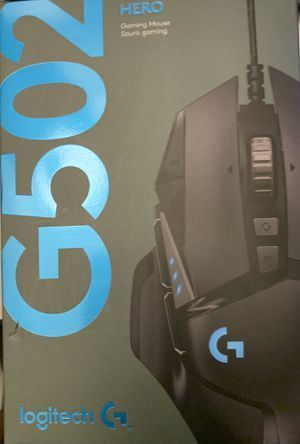 Brand New G502 Logitech Hero Gaming Mouse for Sale in Garland, TX