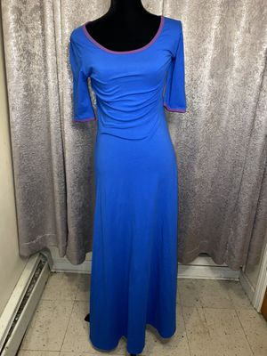 Blue & Purple LuLaRoe Dress for Sale in Fairfield, CT