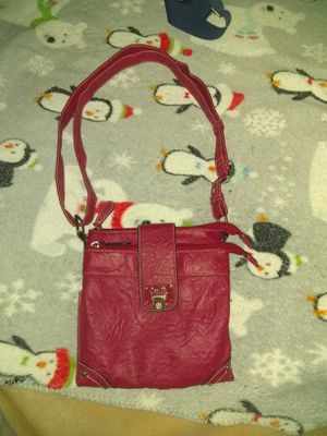 Pink leather purse for Sale in Bloomer, WI