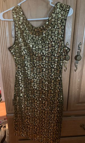 Brand New Gold Sequin Dress Guess Brand for Sale in Gilbertsville, PA