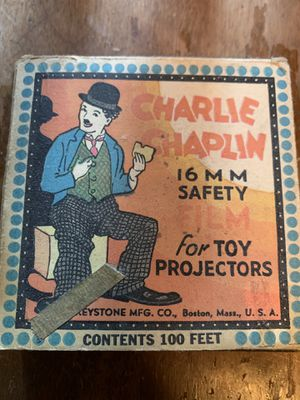 Old Charlie Chaplin toy projector film for Sale in Mishawaka, IN