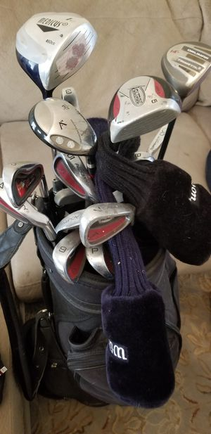 Big bag of golf clubs OBO for Sale in Tampa, FL